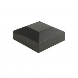 """Post Cap for 2"""" Sq. Fence Post (Black)"""