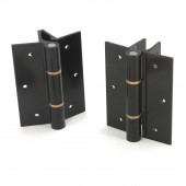 Elite Aluminum Fence Standard Hinge (Pair) (Black)